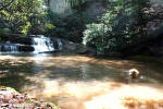 Waterfall Acreage for Sale near Ellijay GA.