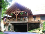 Eastern Tennessee Mountain Log Home for Sale by Owner
