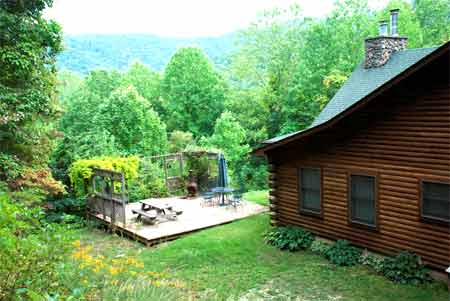 Private NC Mountain Custom Log Home For Sale By Owner. Close To Asheville  And Hendersonville