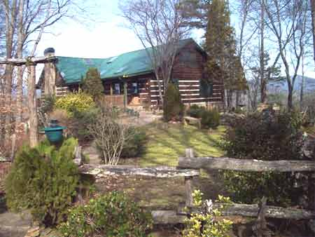 Land For Sale By Owner Nc >> Spectacular Mountain View Lake Front Log Home On Lake Appalachia