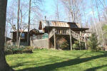 Murphy NC Mountain Log Home Cabin on 28 Acres for Sale by Owner.