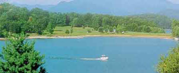 Nottely Lake Blairsville Union County Georgia - Lakefront homes and land real estate listings for sale