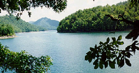 Beautiful Lake Nantahala