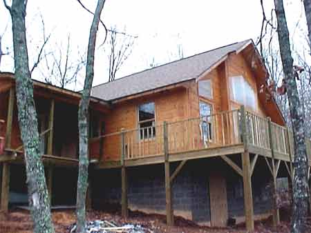 Murphy Nc Area Mountain Cape Cod Home On 6 Acres For Sale
